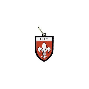 Porte Cles Clefs Cle Drapeau Collection Ville Blason France Lille Lilois