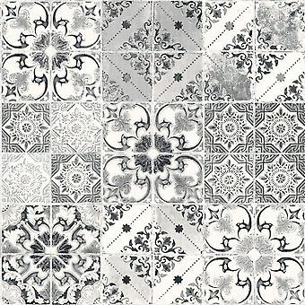 Valencia Tile Wallpaper Debon