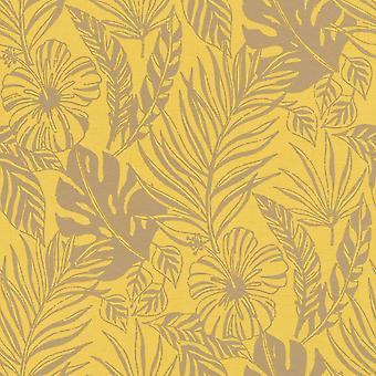 Portfolio tropische blad behang Rasch