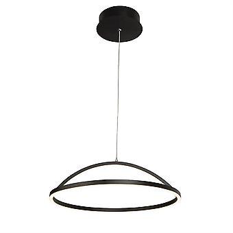 Søkelys magisk integrert LED 1 lys anheng matt svart 8541BK