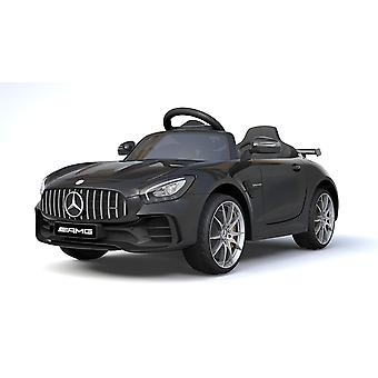 Licensed Mercedes Benz GTR 12V Motors Kids Electric Ride On Car Black