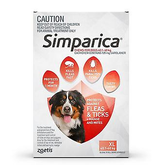 Simparica for Dogs 40-60 kg (88.1-132 lbs) - 3 Pack