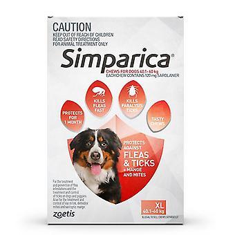 Simparica für Hunde 40-60 kg (88.1-132 lbs) - 3 Erpacken