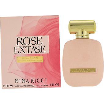 Nina Ricci Rose Extase Eau de Toilette 30ml EDT Spray