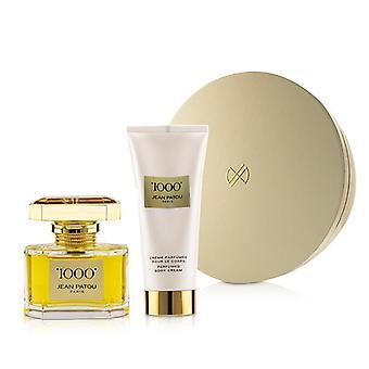 Jean Patou 1000 Coffret : Eau De Parfum Spray 75ml/2.5oz + Perfumed Body Cream 200ml/6.7oz - 2pcs