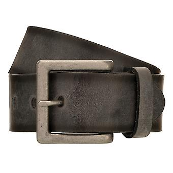 ALBERTO Vintage Belt Men's Belt Leather Belt Denim Belt Grey 8407