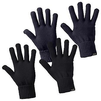 Jack Wolfskin Unisex Milton lätta handskar