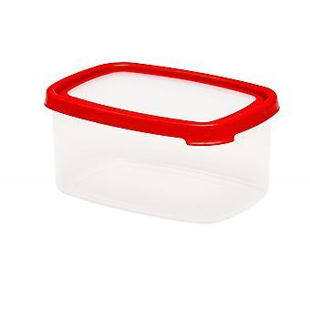 Wham Storage 8.01 Seal It 2.16 Litre Rectangular Airtight Plastic Food Box