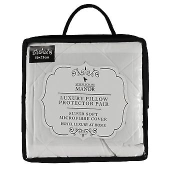 Steeplechase Manor Unisex Quilted Pillow Protector