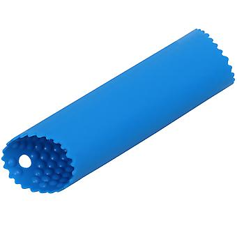 TRIXES Silicone Garlic Peeler Stripper Tube Kitchen Accessory Blue