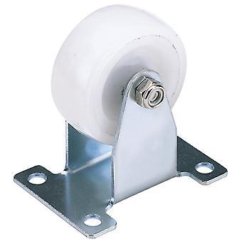 75mm dia. vaste plaat bevestiging nylon wiel-S. W.L. 100Kg-60475F
