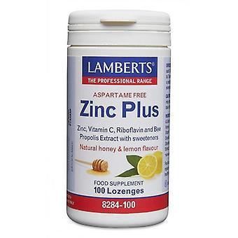 LAMBERTS Zinc Plus lozenges 100 (8284-100)