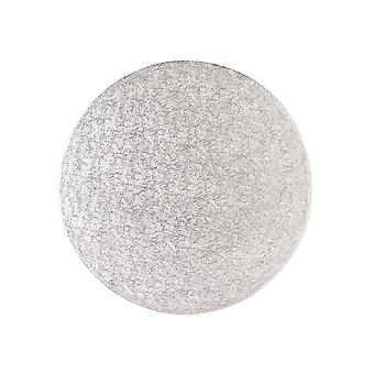 "Culpitt 17 ""(431mm) Cake Board rund silver ormbunke-singel"