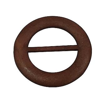 Wooden Round Slider Buckles