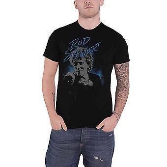 Rod Stewart T Shirt Scribble Photo new Official Mens