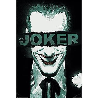 The Joker Happy Face Poster