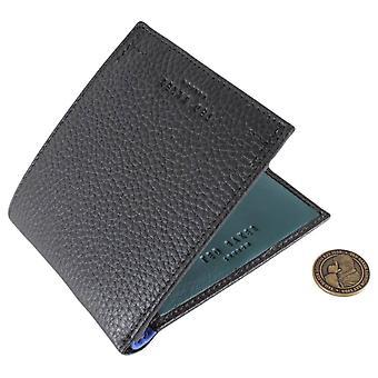 Ted Baker Curence Coloured Internal Bifold Wallet - Black