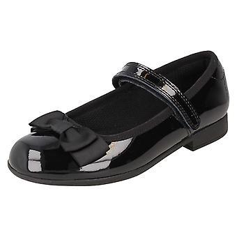 Meninas Clarks formal/escola sapatos Scala Tap