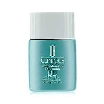 Clinique Soluções Anti-blemish Bb Cream Spf 40 - Light Medium (combinação Oily To Oily) 30ml/1oz