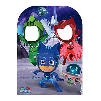 PJ Masks Super Moon Official Child Size Cardboard Cutout / Standee Stand in