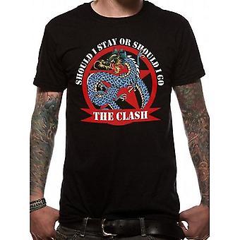 The Clash -Should I Stay Dragon T-Shirt