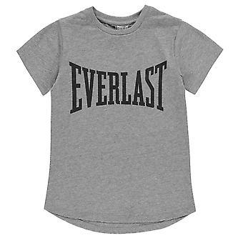 Everlast Kids T Shirt Grl03 Crew Neck T-Shirt Tee Top Short Sleeve T Shirt