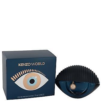 Kenzo wereld door Kenzo Eau De Parfum Intense Spray 2.5 oz/75 ml (vrouwen)