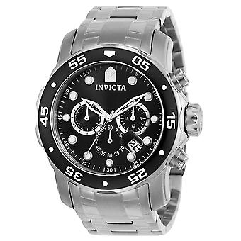 Invicta Stainless Steel Chronograph Hombres Reloj 0069