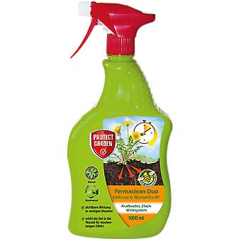 SBM Protect Garden Permaclean Duo Weed & Root-Ex AF, 1000 ml