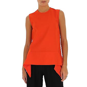 Victoria Beckham 2120wtp000900 Women's Red Polyester Top