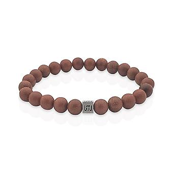 Bracelet Goldstone et or