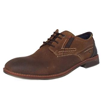 S.Oliver Frankfurt Men's 13604 Smart Lace-up Shoes In Tan