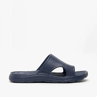 Totes Sol Bounce 0354 Mens Everywear Slide Sandals Navy