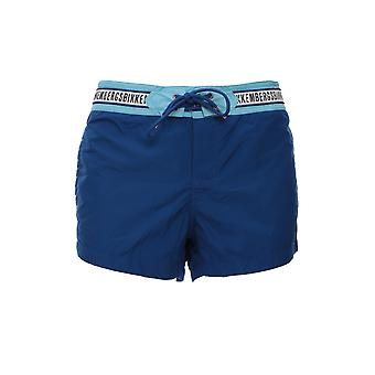 Bikkembergs B6g505102222020 Men's Blue Polyester Trunks