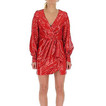 Amen Amw19437003 Robe en polyester rouge