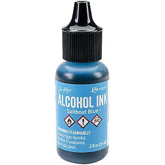 Tim Holtz Alcohol Ink .5oz-Sailboat Blue