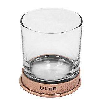 Pewter Rose kalapált whisky üveg Single Tumbler