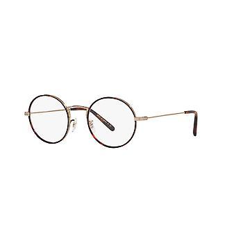 Oliver Peoples Ellerby OV1250T 5035 Dark Mahogany-Soft Gold Glasses
