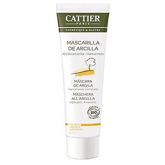 Cattier Yellow Clay Mask Dry Skin 100 ml