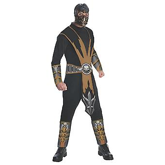 Mortal Kombat Mens Scorpion Costume