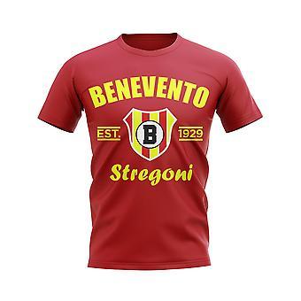 Benevento Calcio Perustettu Jalkapallo T-paita (Punainen)