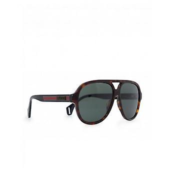 Gucci Eyewear Sport Rounded Aviator Sonnenbrille