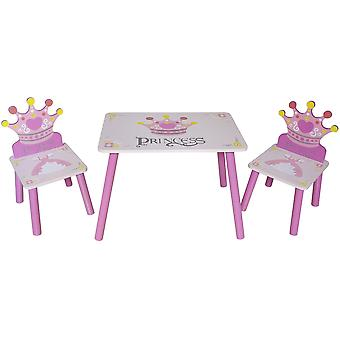 Kiddi Style Princess Table & Chairs