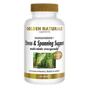 Golden Naturals Stress & strain Support (180 vegetarian capsules)