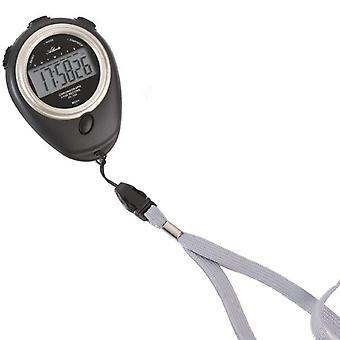 Atlanta 0902 Stopwatch Digital Black Clock Timer Wake-up Time Lap