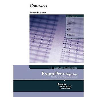 Exam Pro on Contracts - Objective by Robert D. Brain - 9780314285966