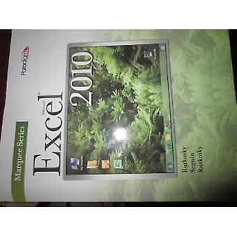 Microsoft (R)Excel 2010 - Text with data files CD Marquee Series by Ni