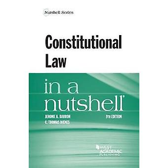 Constitutional Law in a Nutshell by Jerome Barron - 9781634596237 Book