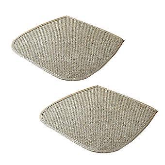 2 pcs Cotton Chair Cushion Plant rattan mat tecida almofada de correia quadrada