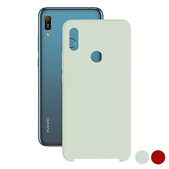 Mobile cover Huawei Y6 2019 Contact TPU/Red